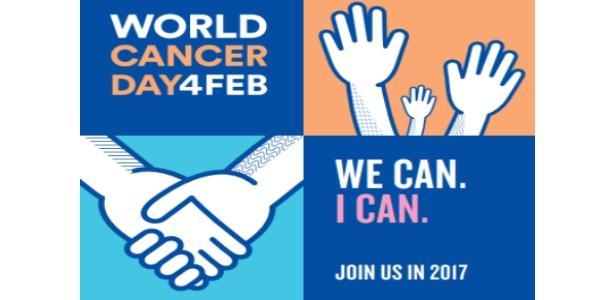 Giornazta mondiale con tro il cancro, 4/2/2017