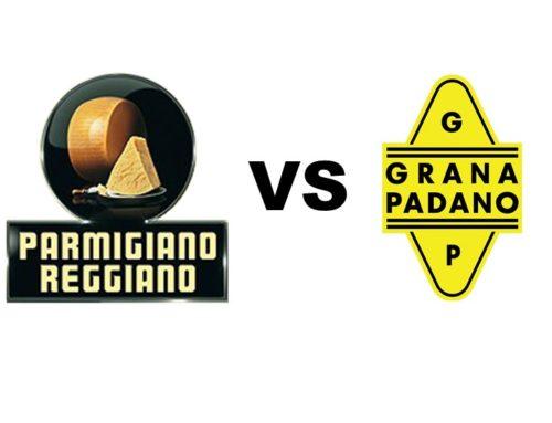 Parmigiano Reggiano e Grana Padano: conoscete le differenze?
